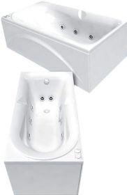 Акриловая ванна Акватек Леда 170х80 без гидромассажа