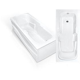 Акриловая ванна Bach Эллина 170х73 Система 0
