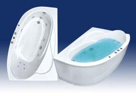 Акриловая ванна Bach Изабелла 150х100 R/L Система 0