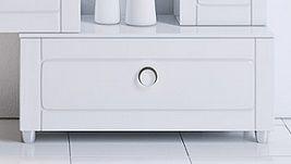 Тумба напольная Aqwella Инфинити (Infinity) 80 (белый)