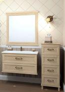 Комплект мебели для ванной Opadiris Гарда 90 бьянко