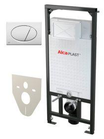 Система инсталляции для унитазов 4 в 1 AlcaPlast Sadromodul A101/1200 белая