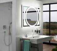 Зеркало с подсветкой Mixline Каскад 80x60